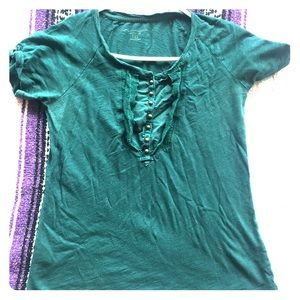 Classic Blouse- Teal